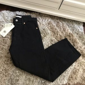 Levis Wedgie Straight - Black